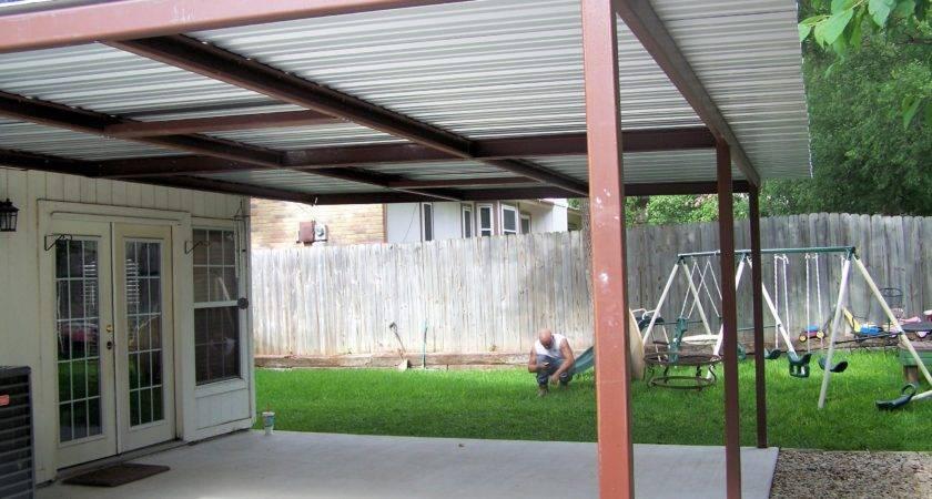 Attached Lean Patio Cover North West San Antonio