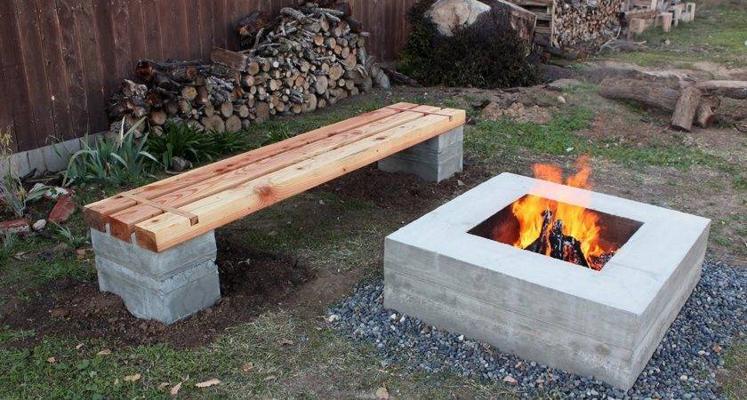 Attractive Cinder Block Fire Pit Designs Ideas Make