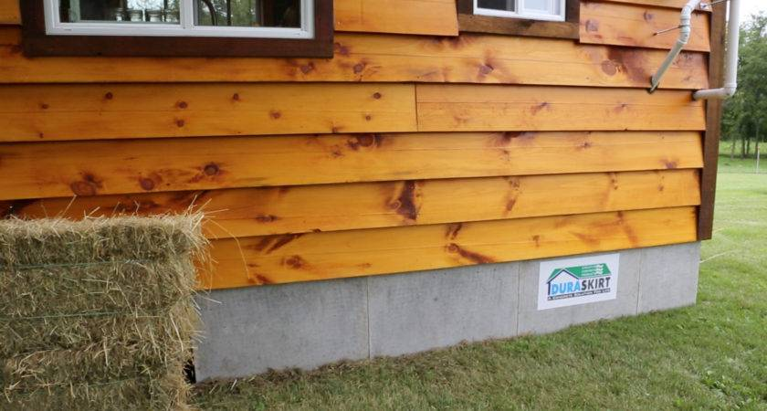 Attractive Mobile Home Skirting Provides Many Benefits