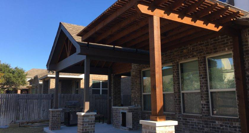 Austin Covered Patio Decks Pergolas