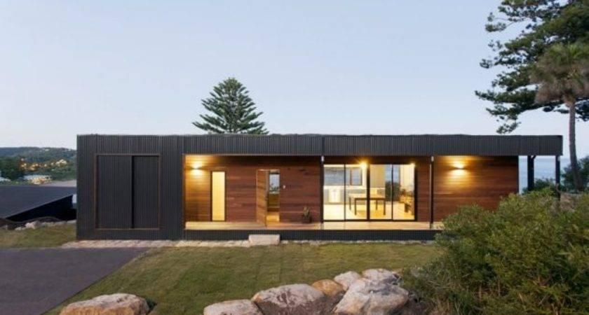 Avalon Modern Prefab Beach House Green Roof