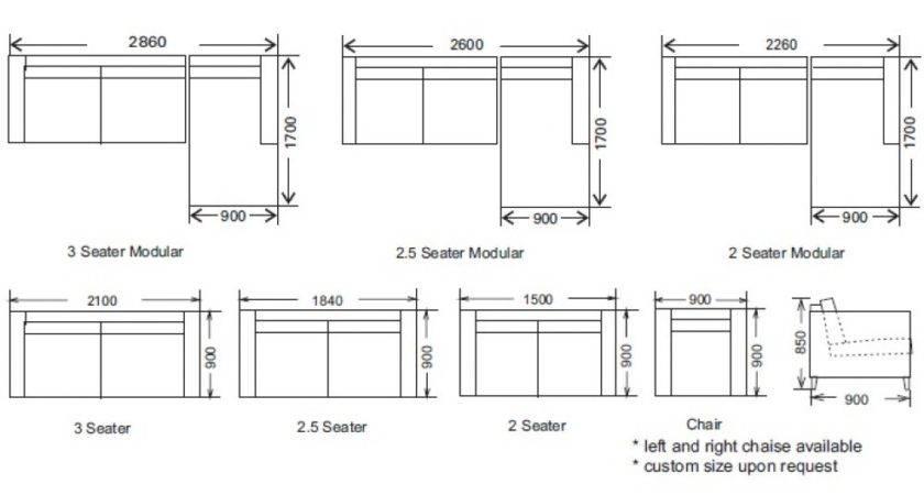 Average Sofa Standard Furniture