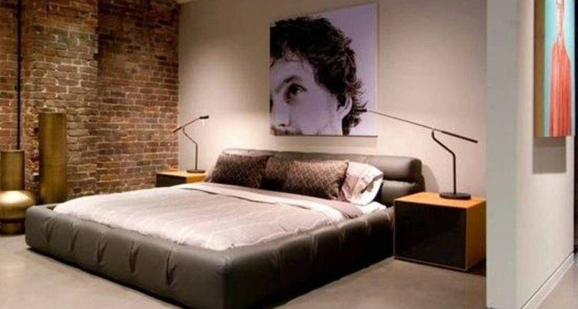 Awesome Bachelor Bedroom Ideas Simple Masculine