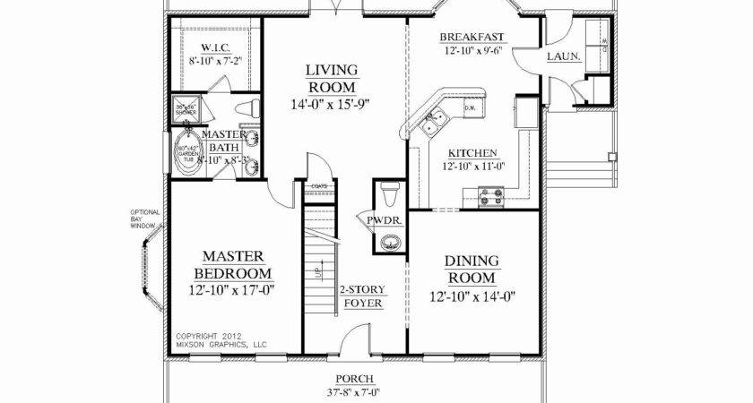 Awesome Bedroom Bathroom House Plans Plan
