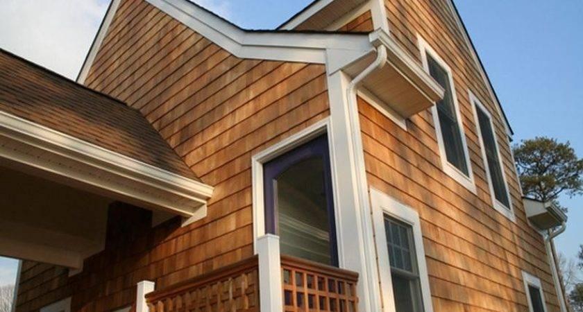 Awesome Cedar Shake Siding Home Interior Design