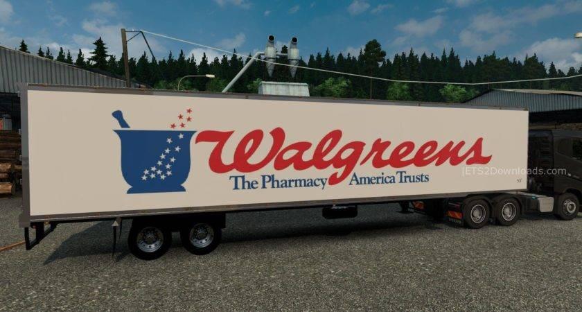 Awesome Euro Truck Simulator Blog Walgreens American Trailer