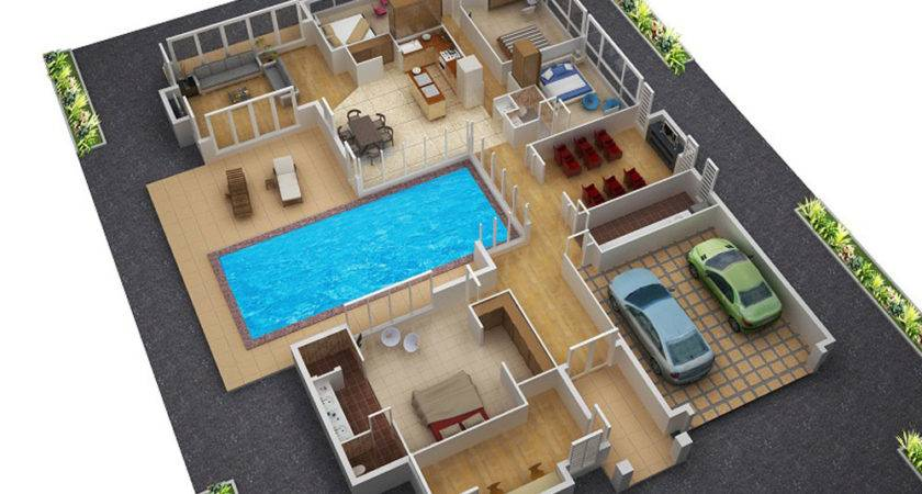 Awesome Floor Plans Houses Home Design Ideas