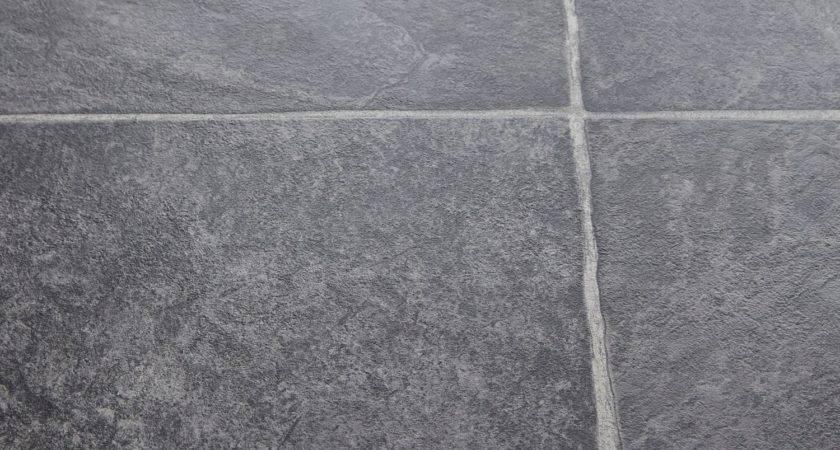 Awesome Grey Slate Tile Effect Laminate Flooring
