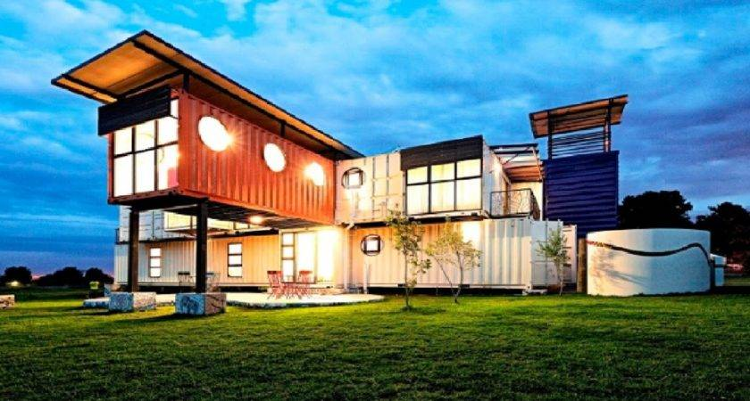 Awesome Houses Made Shipping Containers Youtube