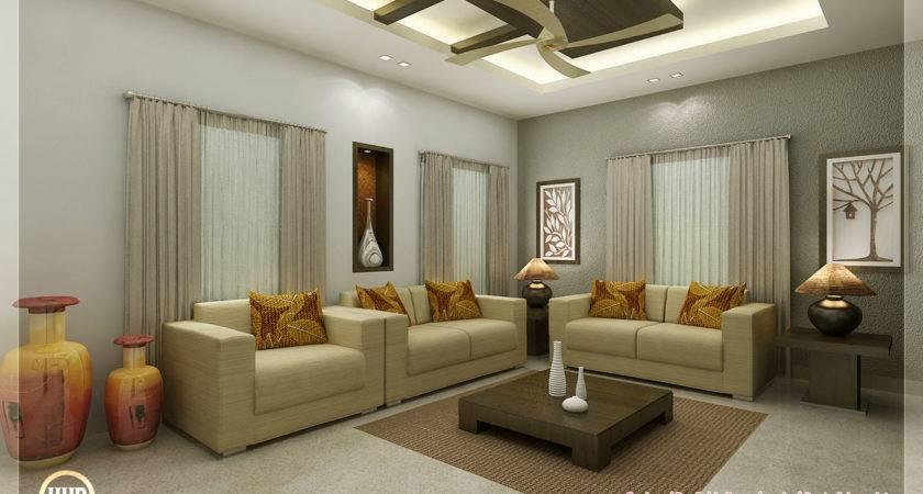 Awesome Interior Renderings Kerala House Design Idea