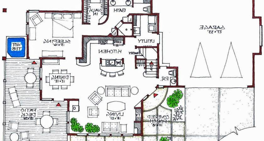 Awesome Modern House Plans Floor