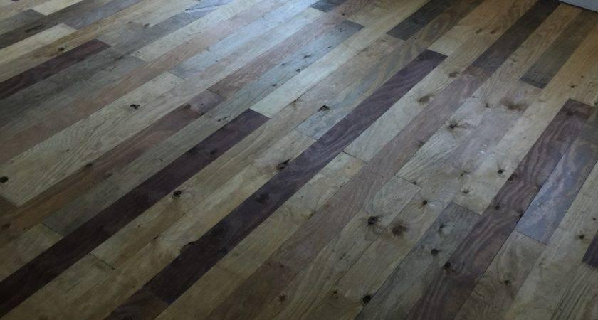 Awesome Plywood Farmhouse Flooring Used