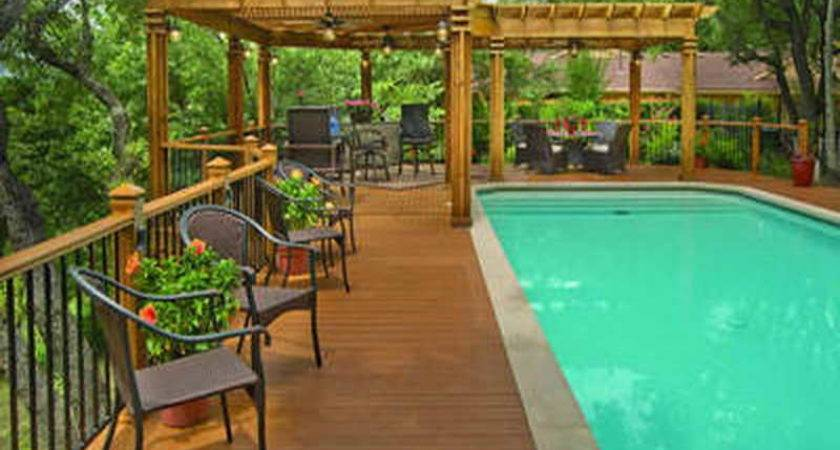 Awesome Pool Deck Ideas Jbeedesigns Outdoor
