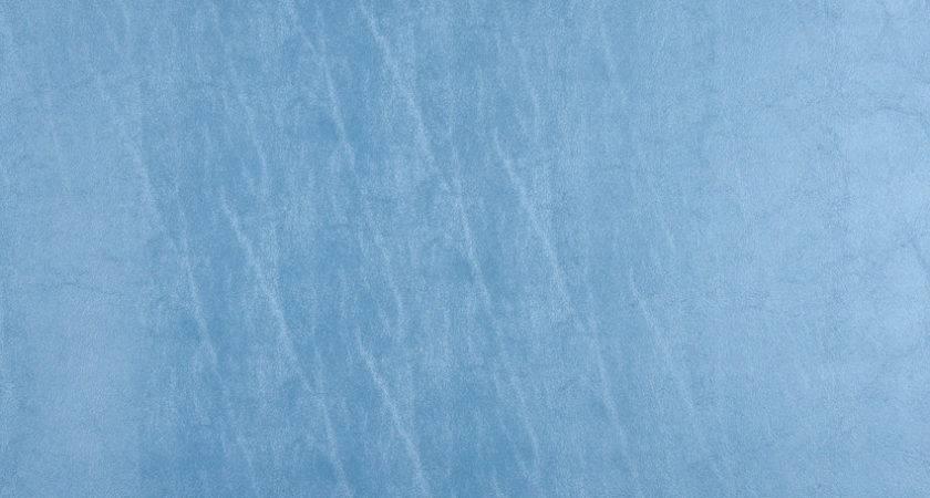 Azure Light Blue Metallic Shine Leather Texture Vinyl
