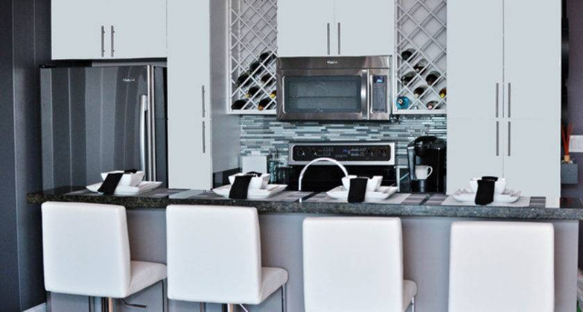 Bachelor Pad Makeover Contemporary Kitchen Miami