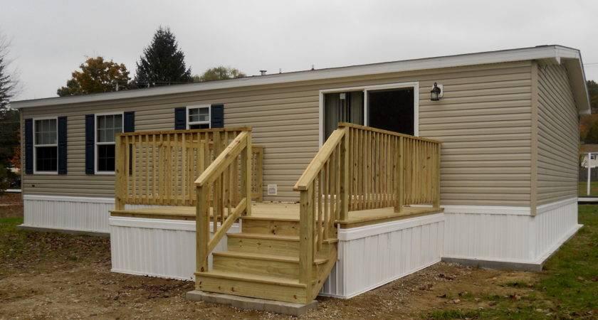 Back Decks Mobile Homes Home Design Ideas