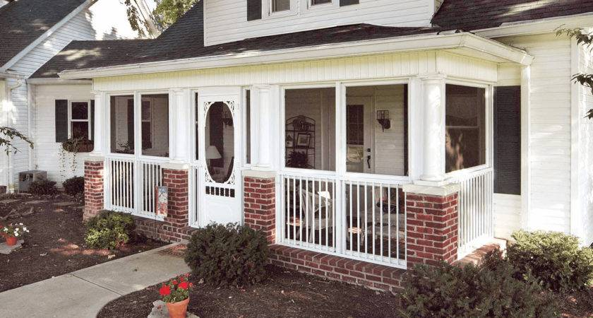 Back Front Porch Enclosure Ideas