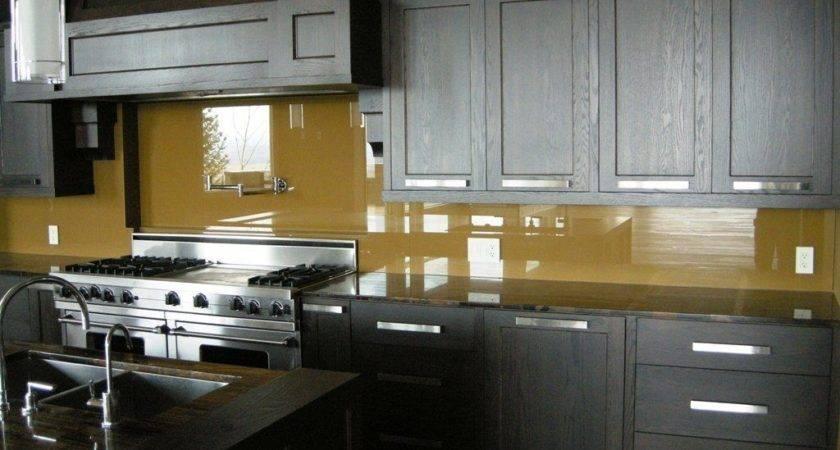Back Painted Glass Kitchen Backsplash Amazing Tile