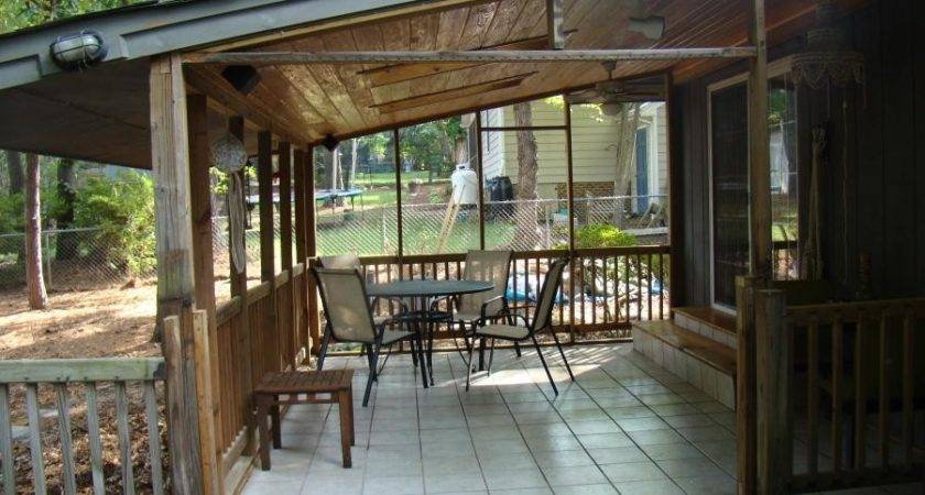 Back Porch Addition Photos