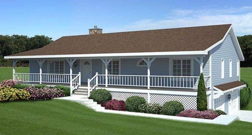Back Porch Decks Popular Ranch Style House Plans