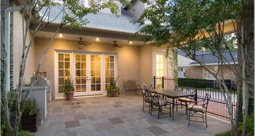 Back Porch Designs Houses Home Style