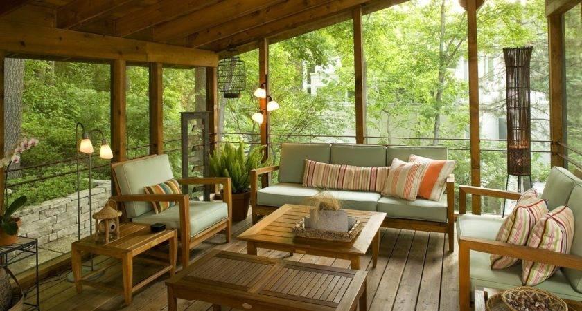 Back Porch Designs Houses