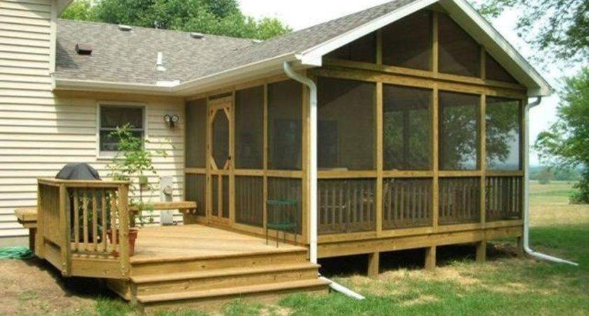 Back Porch Designs Improve Your Safety Bistrodre