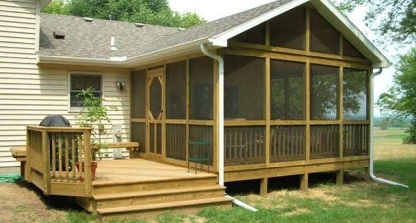 Back Porch Designs Improve Your Safety Bistrodre