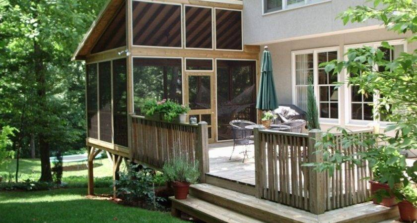 Back Porch Ideas Add Value Appeal Your