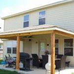 Back Porch Patio Ideas Side Roof