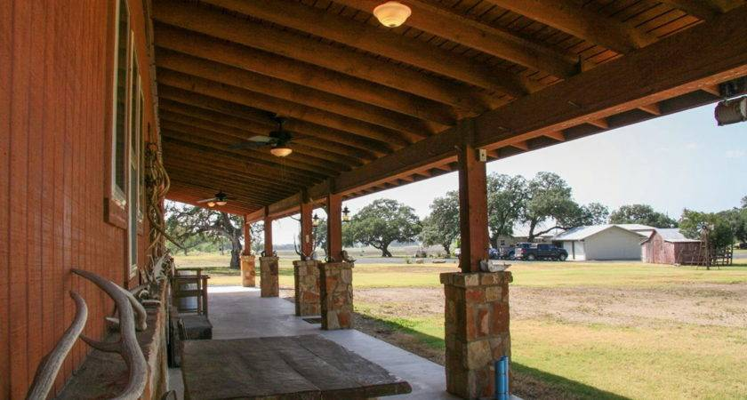 Back Porch Ranch Texas Home Design Ideas