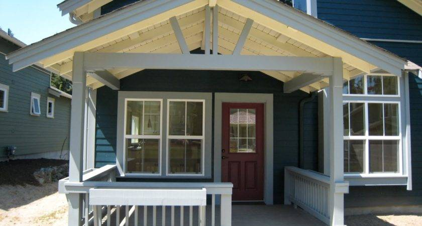 Back Porch Roofs Designs