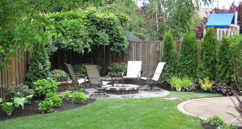 Back Yard Landscaping Garden Using Edging Then