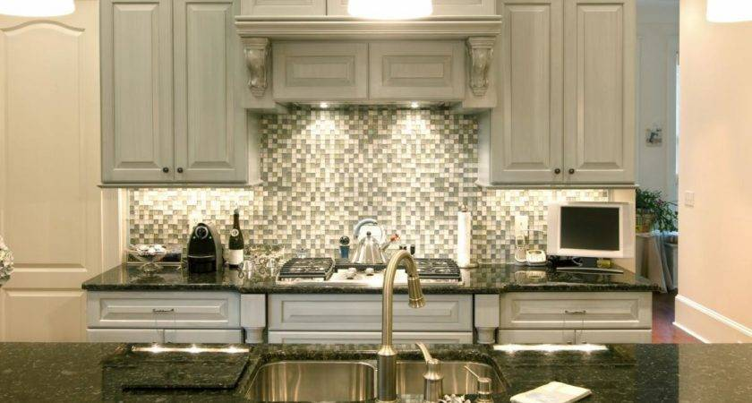 Backsplash Beautiful Sparkling Kitchen Tile