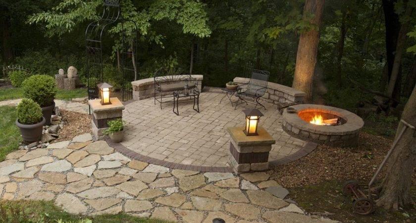 Backyard Patio Ideas Fire Pit Design