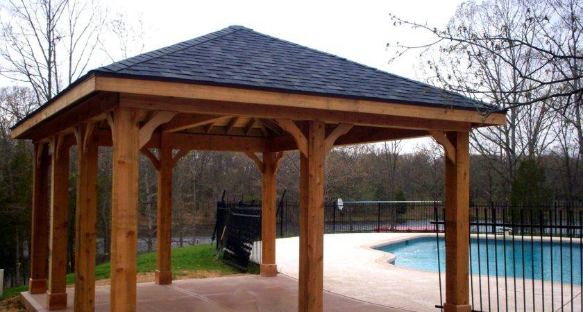 Backyard Pavilions Louis Decks Screened
