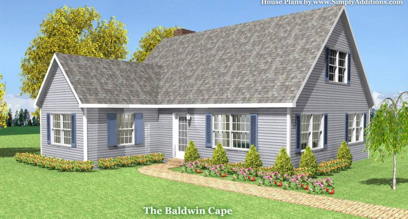 Baldwin Modular Cape House Plans