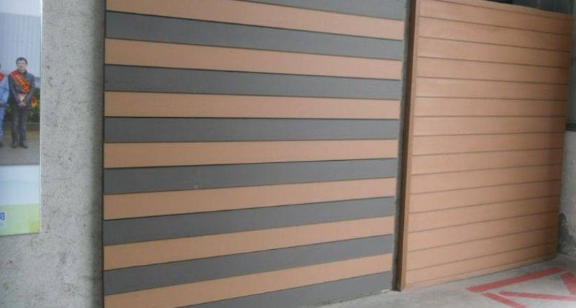 Bamboo Flooring Grey Plastic Composite Wall Panel Solid