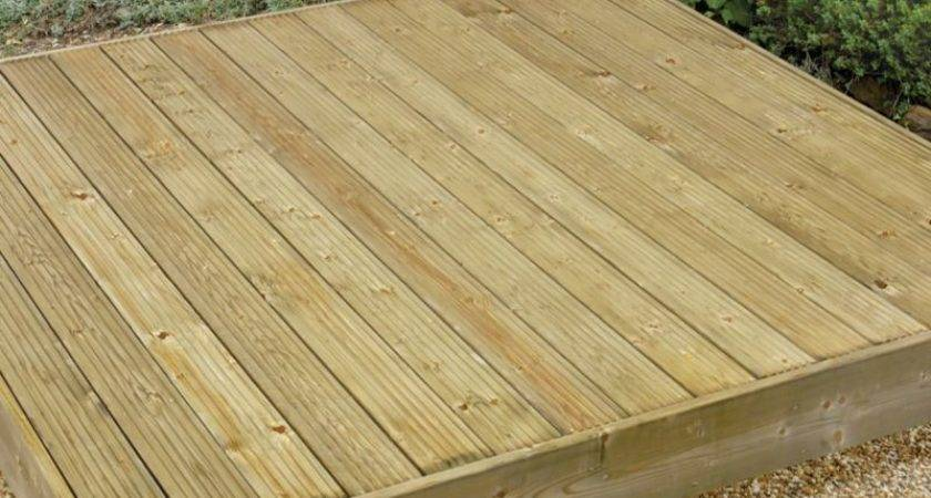 Bandq Easy Build Deck Kit Home