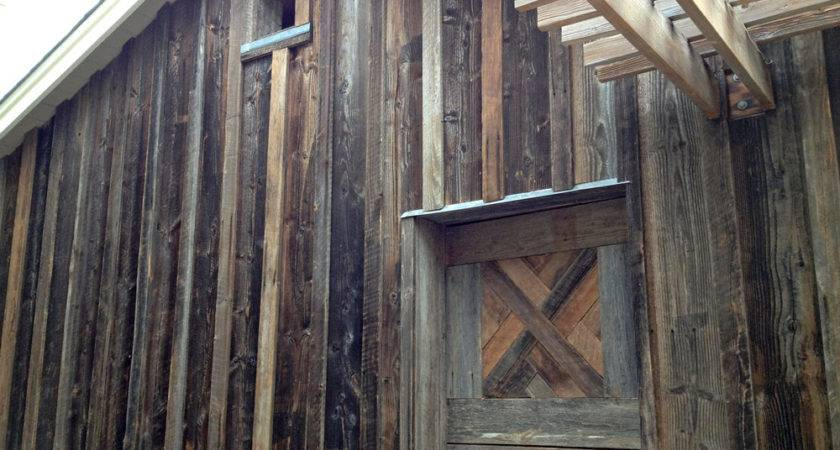 Barn Siding Paneling Arc Wood Timbers