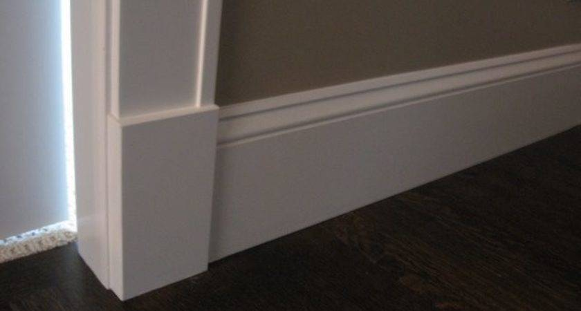 Baseboard Molding Styles