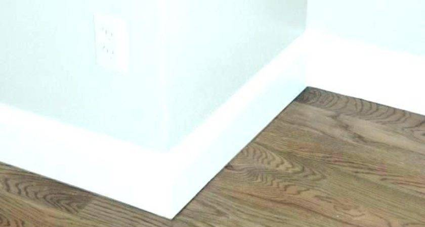 Baseboard Trim Different Molding