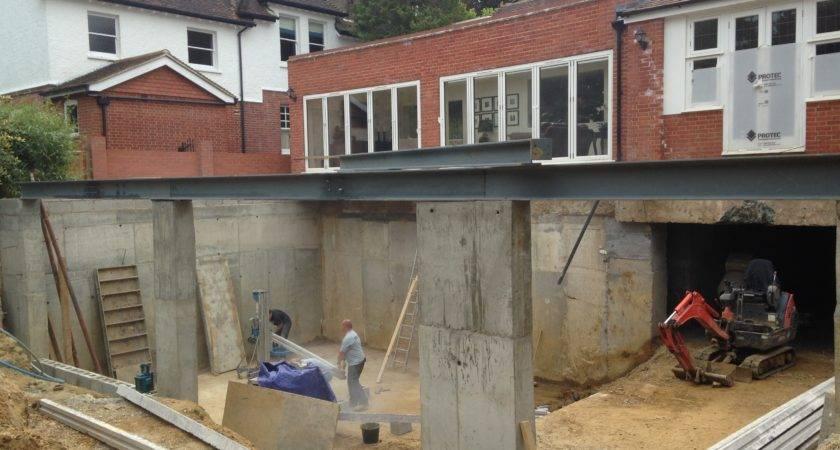 Basement Excavation Under Existing House