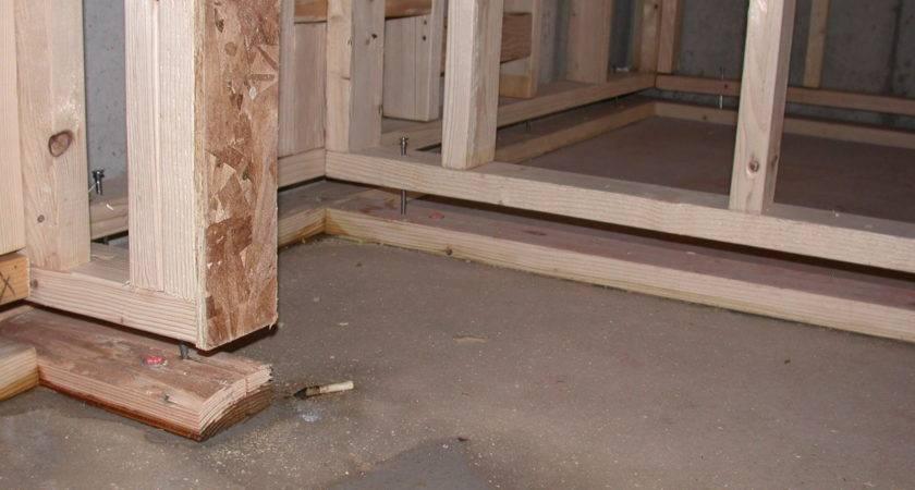 Basement Floor Wood Concrete Ken Caryl Much