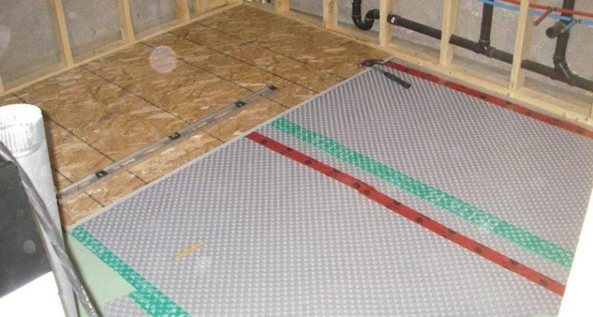 Basement Sub Floor Greg Maclellan