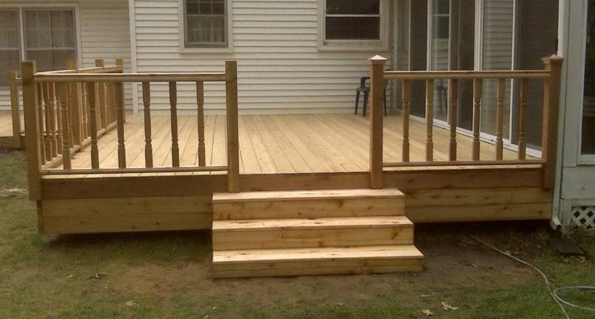 Basic Deck Plans Home Design Ideas