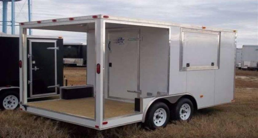 Basic Porch Cargo Trailer American