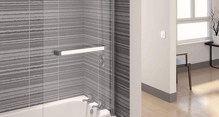 Bath Glass Screen Shower Frameless