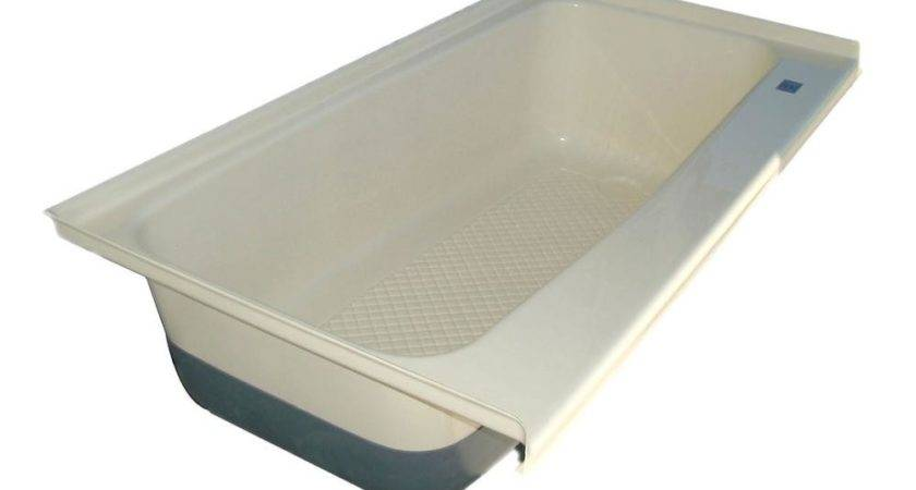 Bath Tub Right Hand Drain Polar White Icon