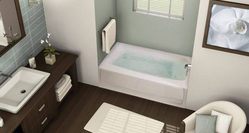Bathroom Compact Bathtub Length
